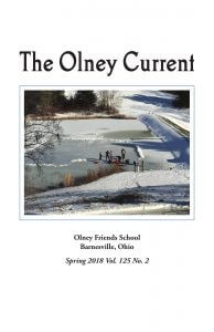 Spring 2018 cover of The Olney Current