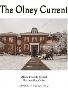 spring 2019 cover of The Olney Current