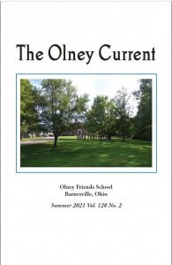Cover page Olney Current 2021 128.2